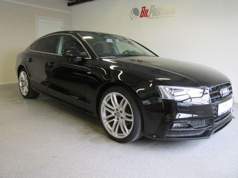 Audi A5 1,8 TFSI 170HK SPORT S-Line Multitr  Navi+ LAV KM !  2015, 41400 km, kr 289800,-