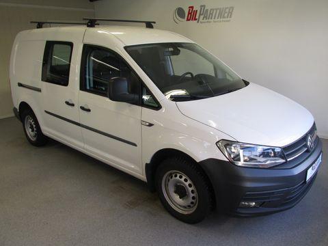 volkswagen-caddy-maxi-2,0-tdi-102hk-2-x-skyvedor-webasto+-++-hengerfeste+-++-2017,-18800-km,-kr-178500,-